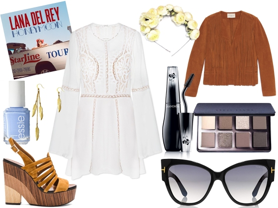 honeymoon lookbook lana del rey style 2016 summer